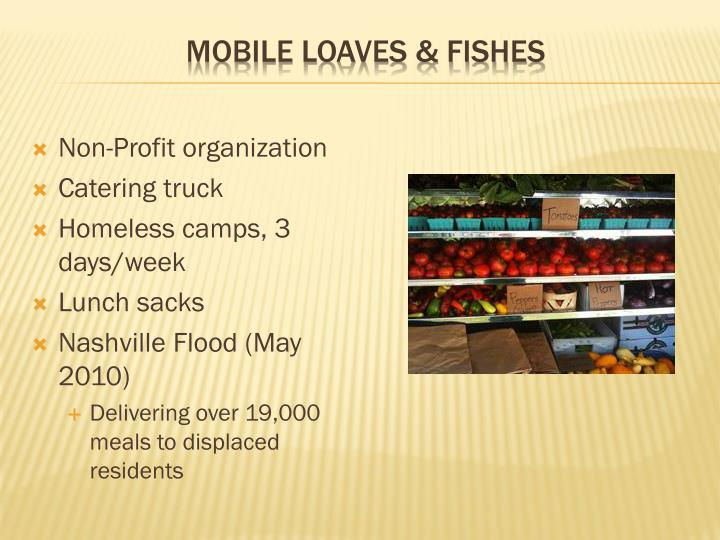 Mobile loaves fishes