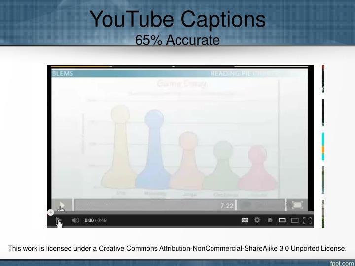YouTube Captions