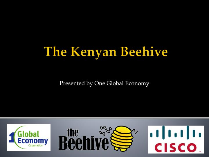 Presented by one global economy