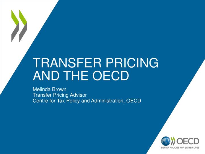 transfer pricing and the oecd n.