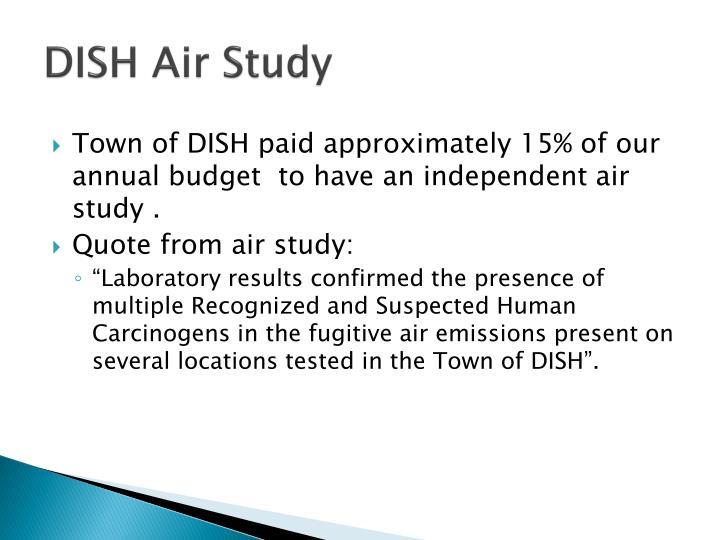 DISH Air Study