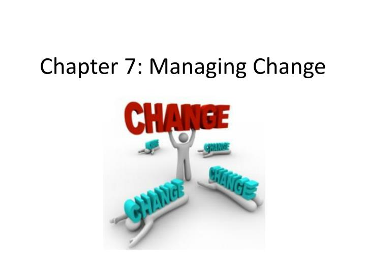 an introduction to the organizational change and resistance to change Most previous studies of organizational change and resistance take an organizational perspective as opposed to an individual perspective this paper investigates the.