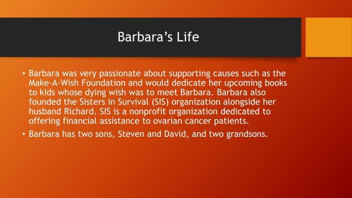 Barbara s life