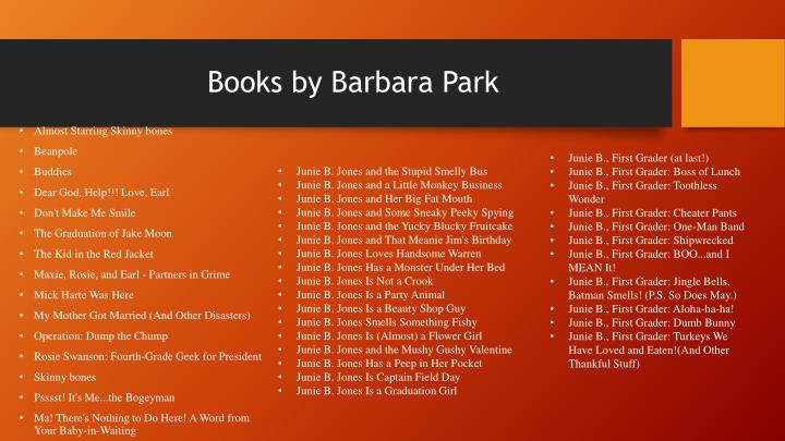 Books by