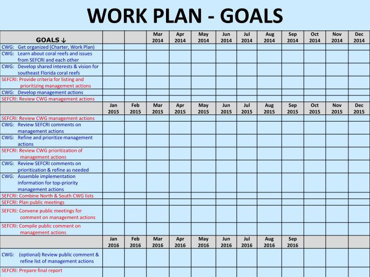 Work Plan -