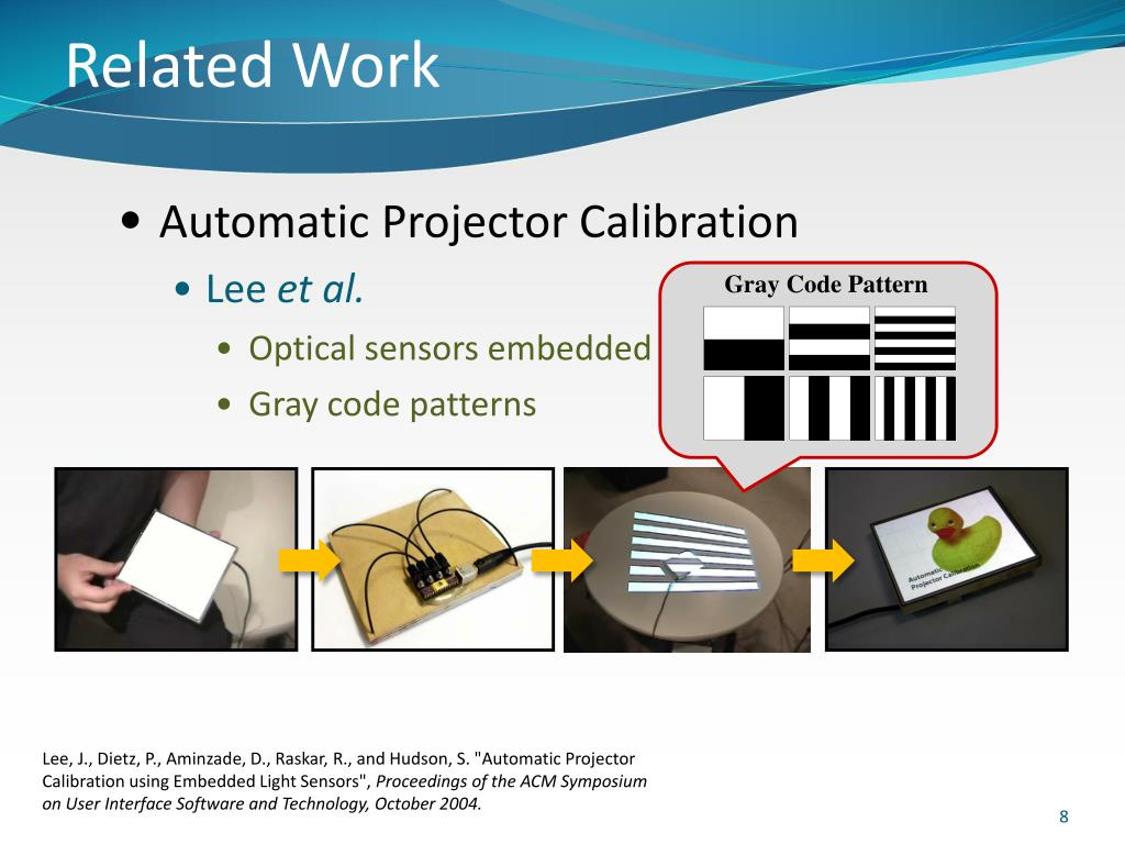 PPT - Projector Calibration of Interactive Multi ...
