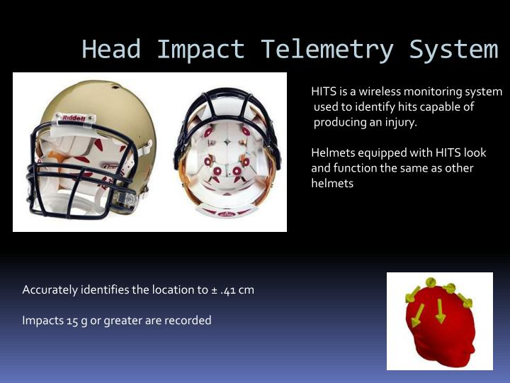 Head Impact Telemetry System