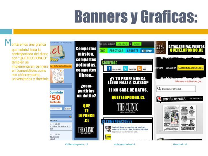 Banners y Graficas: