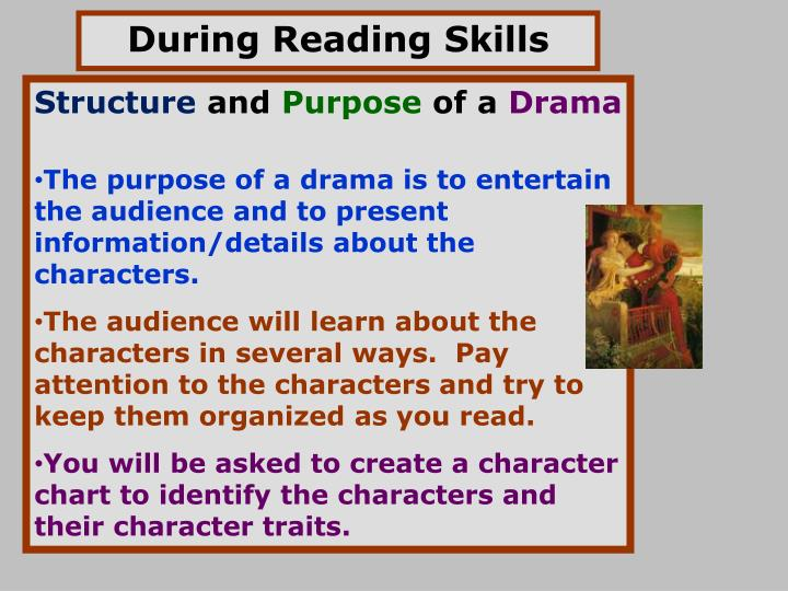 During Reading Skills