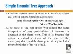 simple binomial tree approach2