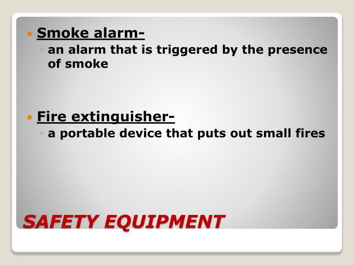 Smoke alarm-