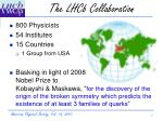 the lhcb collaboration