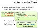 note harder case