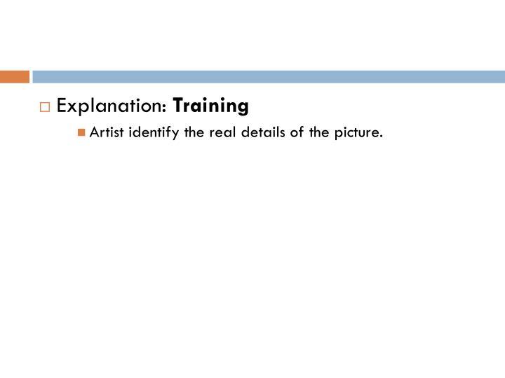 Explanation: