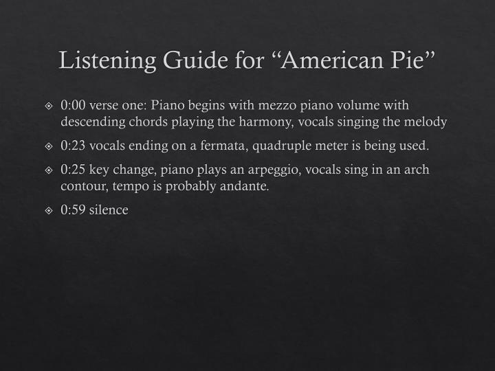 Nice American Pie Chords Frieze - Chord Sites - creation-website.info