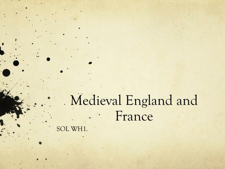 medieval england and france n.