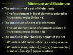 minimum and maximum1