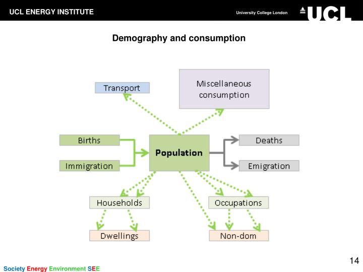 Demography and consumption