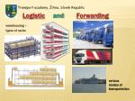 logistic and forwarding