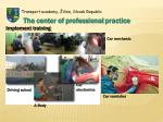 the center of professional practice