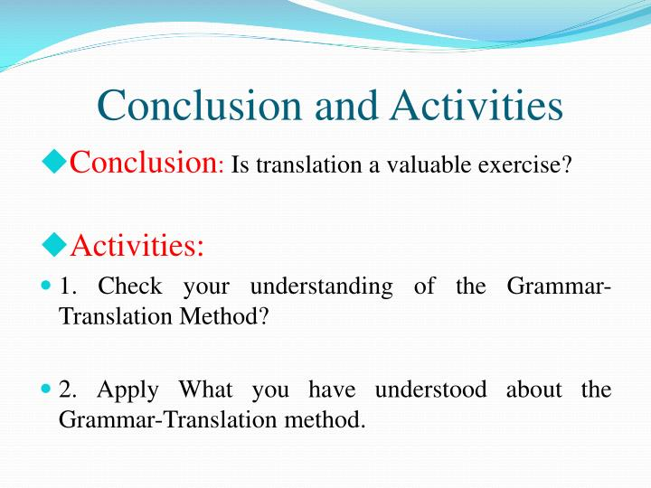 compare and contrast the grammar translation method and the direct method --the word direct refers to the direct connections between the new words in l2 and meanings or objects without translation into or from l1 2 the method is also known as the natural method.