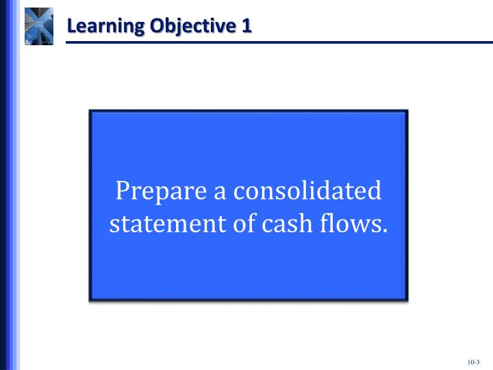 Consolidating cash flows