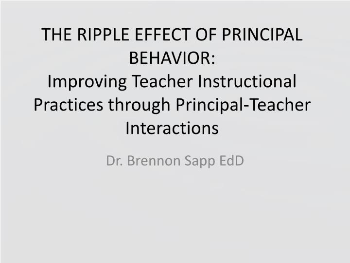 the effect of teachers bad behavior Ronment have on overall class behavior and learning many teachers face dis - changing behaviors by changing the classroom environment.