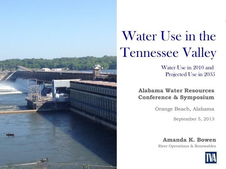 Water Use in the