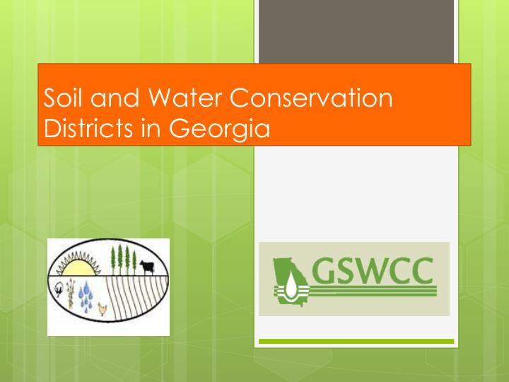 soil and water conservation districts in georgia n.