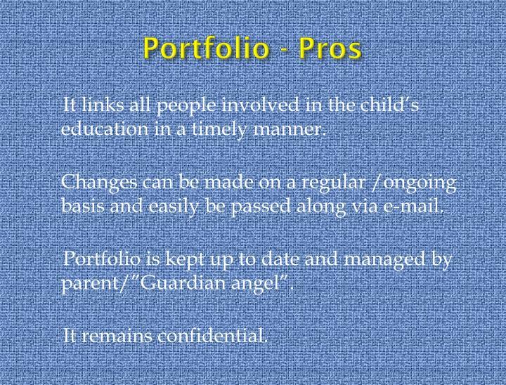 Portfolio - Pros