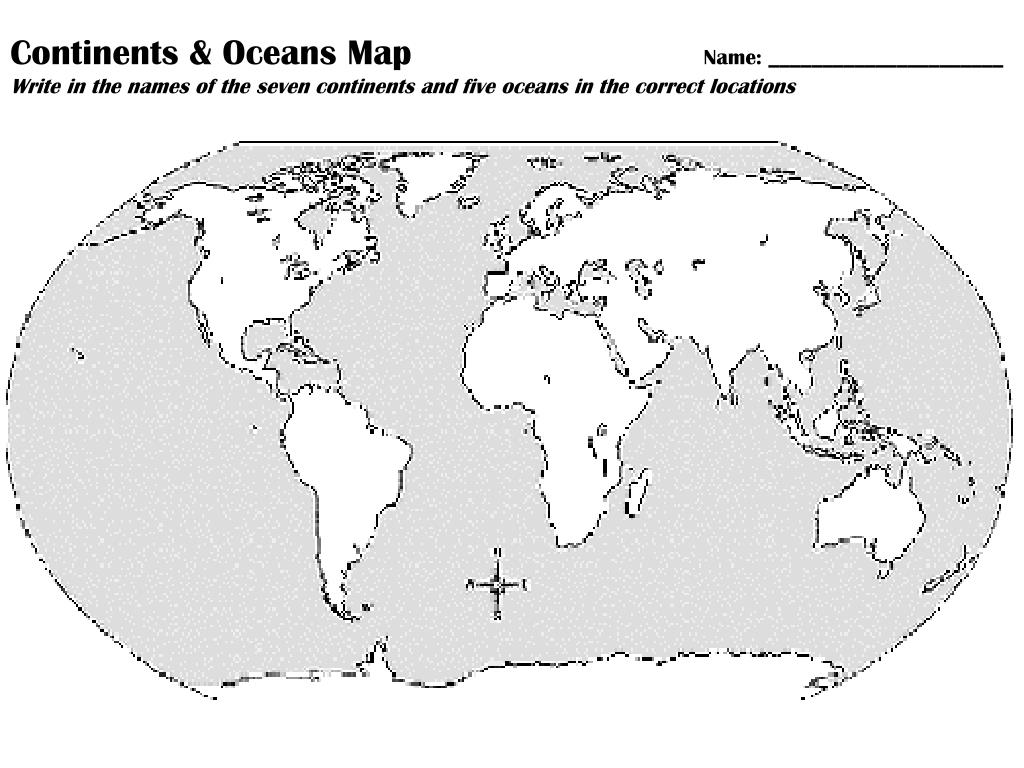 Picture of: Ppt Continents Oceans Key Map Powerpoint Presentation Free Download Id 2840043