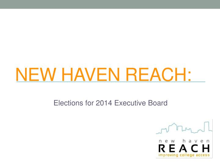 new haven reach n.