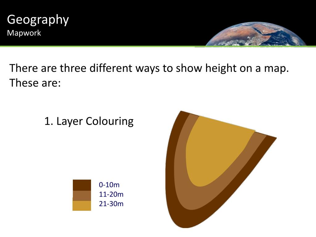 PPT - Geography Mapwork PowerPoint Presentation - ID:2840190