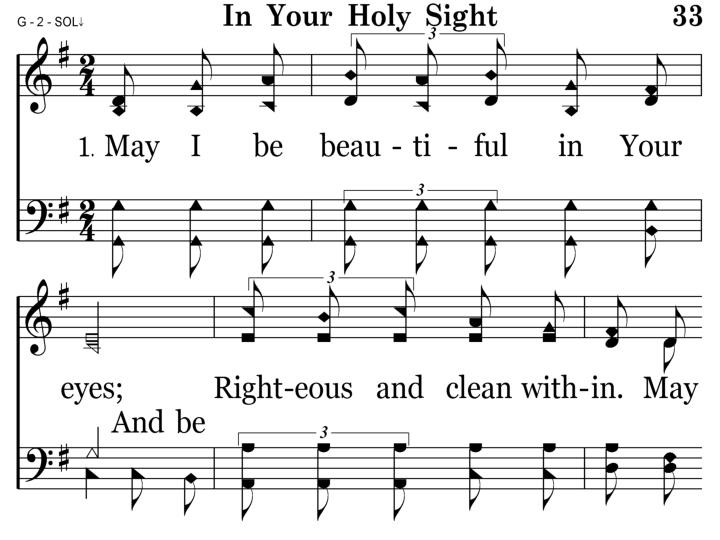 033 - In Your Holy Sight - 1.1