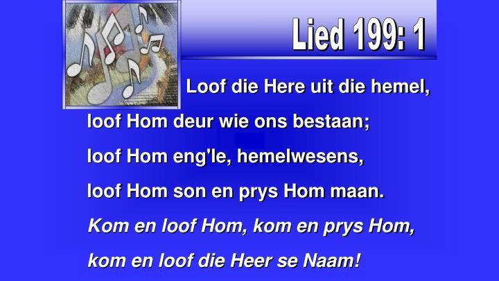 Lied 199: 1