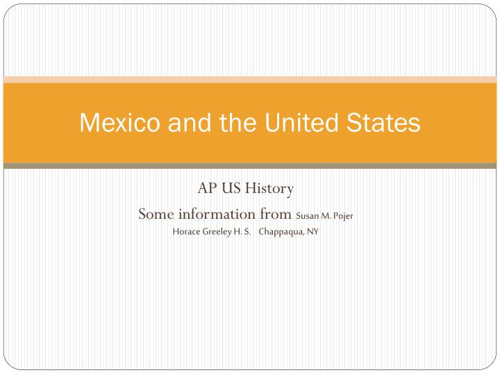 mexico and the united states n.