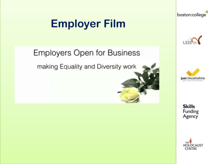 Employer Film