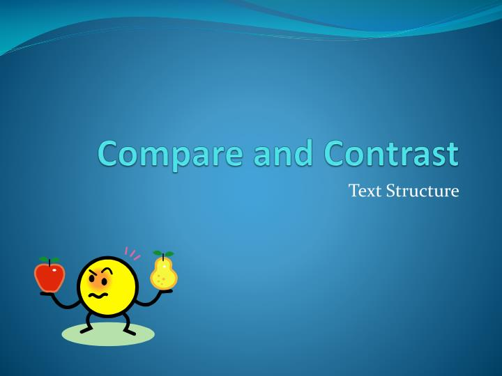 compare and contrast n.