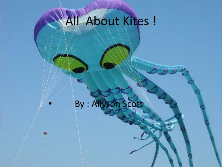 all about kites n.