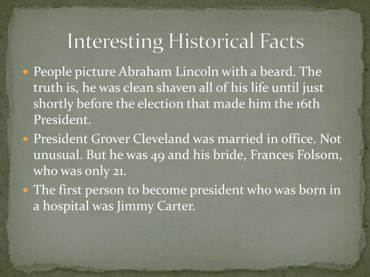interesting historical facts n.