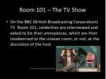 room 101 the tv show