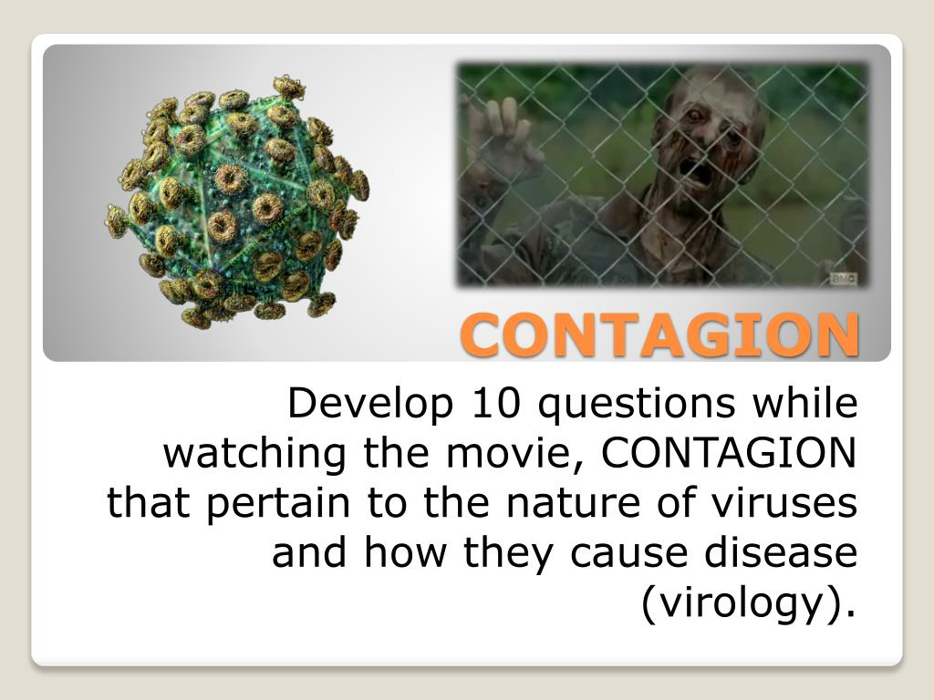 Ppt Contagion Powerpoint Presentation Free Download Id 2841242
