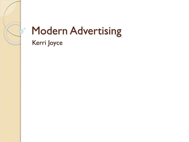 modern advertising has been significantly influenced How emotions influence what we buy the emotional core of consumer decision-making posted feb 26, 2013.