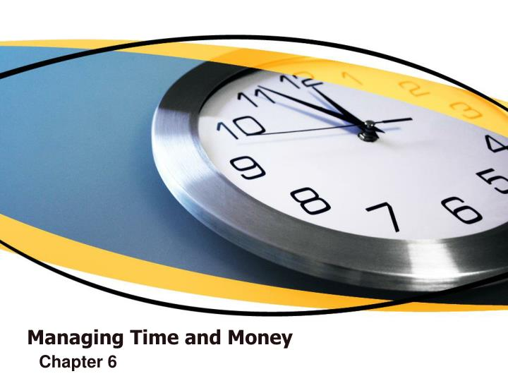 managing time and money n.