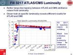 fill 3217 atlas cms luminosity