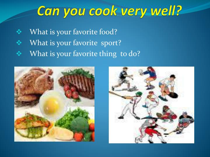 Ppt Can You Cook Very Well Powerpoint Presentation Free