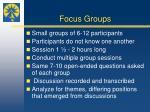 focus groups1