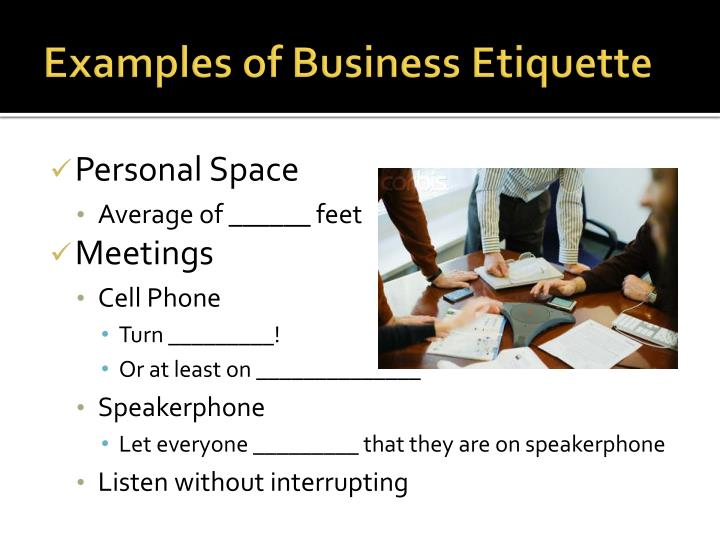 overview of business etiquette Executive planet pageok.
