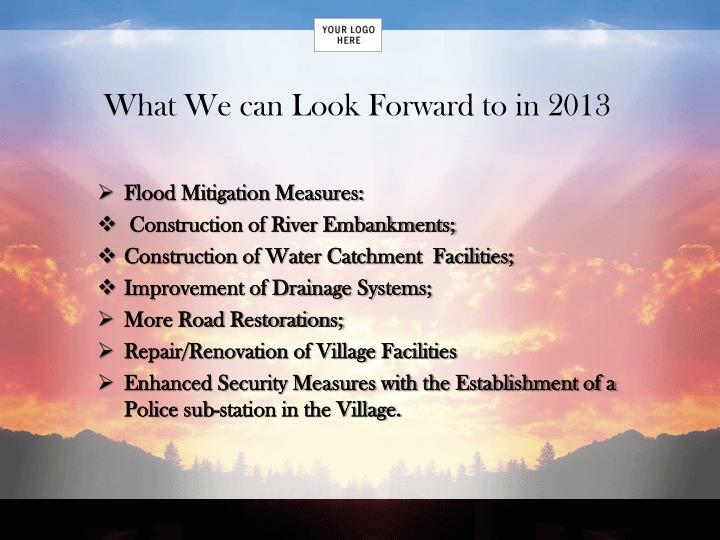 What We can Look Forward to in 2013