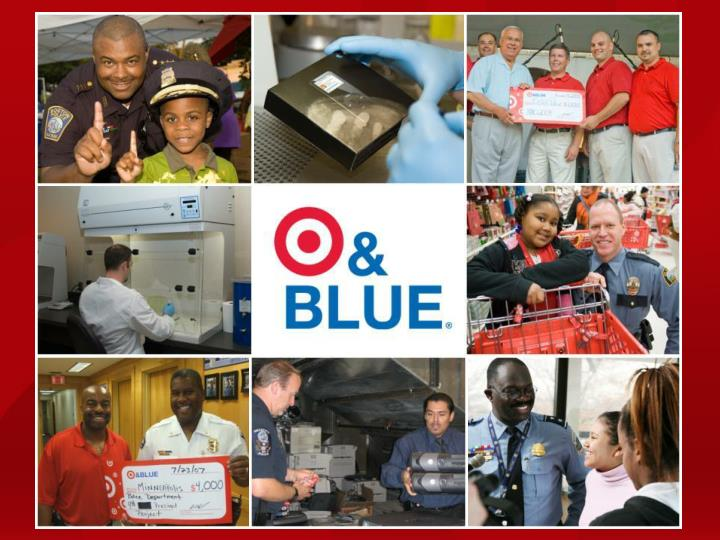 Target and Blue